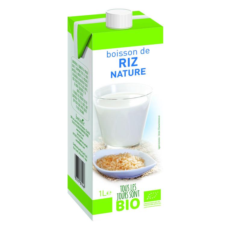 Boisson végétale de riz nature Bio 1 L 335814