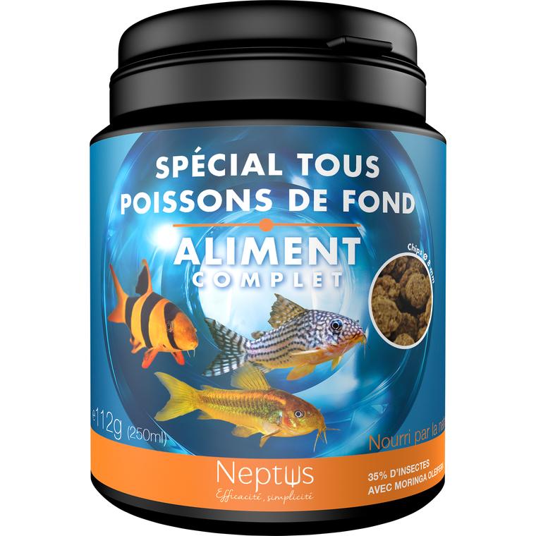 Aliment complet  pour tous poissons de fond - Boîte 250 ml 343013