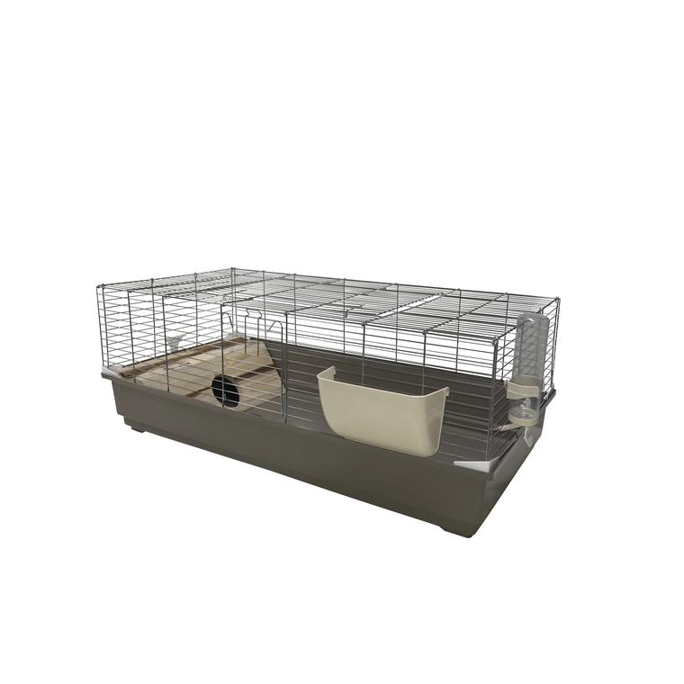 Cage Rongeur Cavia  Équipée Bois Gris 120x60x50 cm 343695