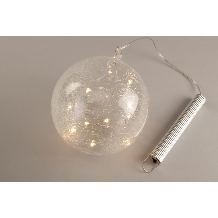 Boule lumineuse 12 cm 344815