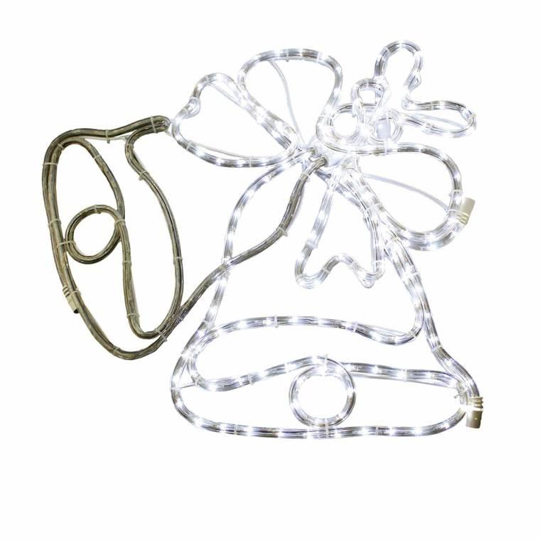 Fil lumière Led motif Cloches de Noël 344867