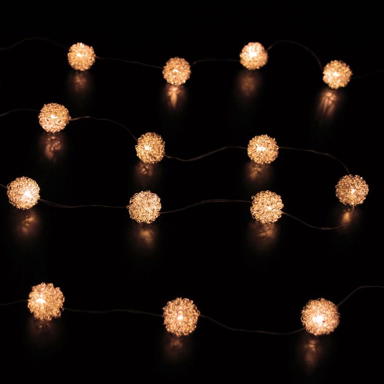 Guirlande Boule Cuivre Copper Ball 344975