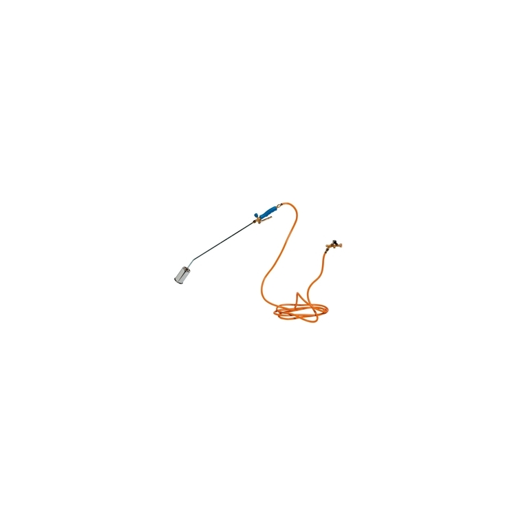 Désherbeur thermique lance bleu acier et PVC 100 cm 345231