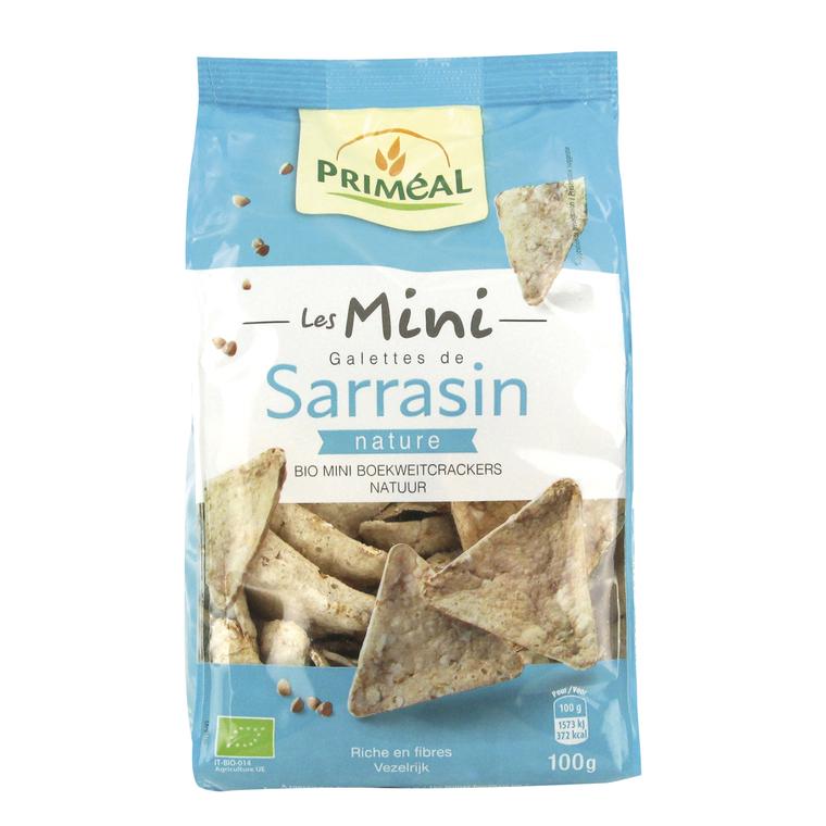 Mini galettes de sarrasin nature - 100 gr 349336