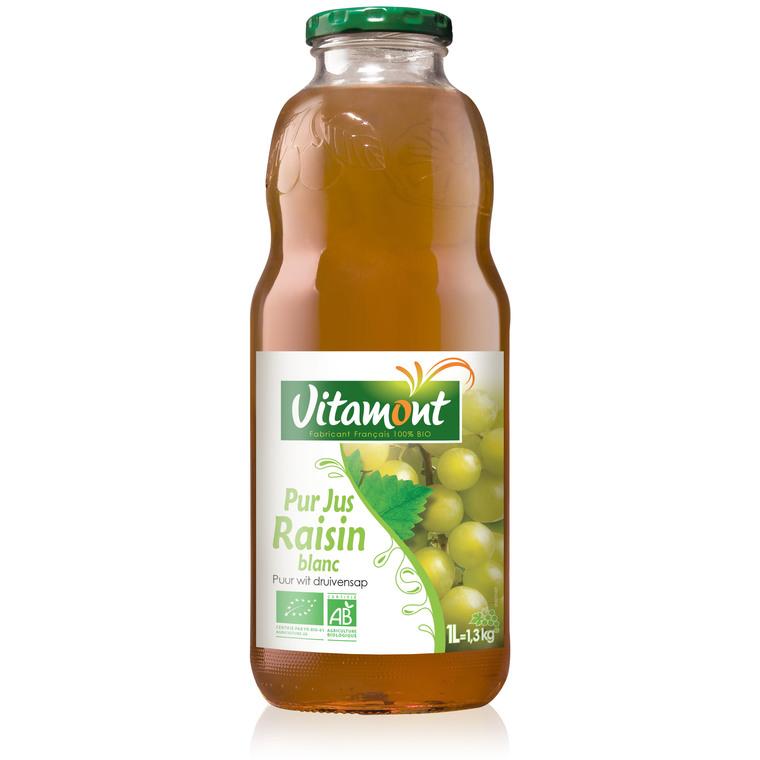 Pur jus de raisins blancs bio 1 L 354933