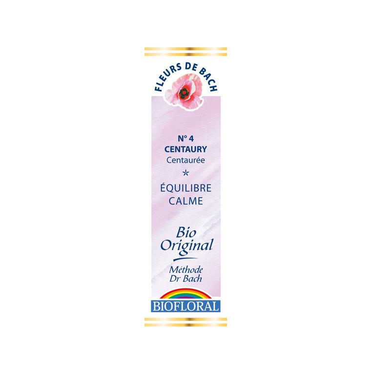 Élixir n°4 Biofloral de centaurée en flacon de 20 ml 356121