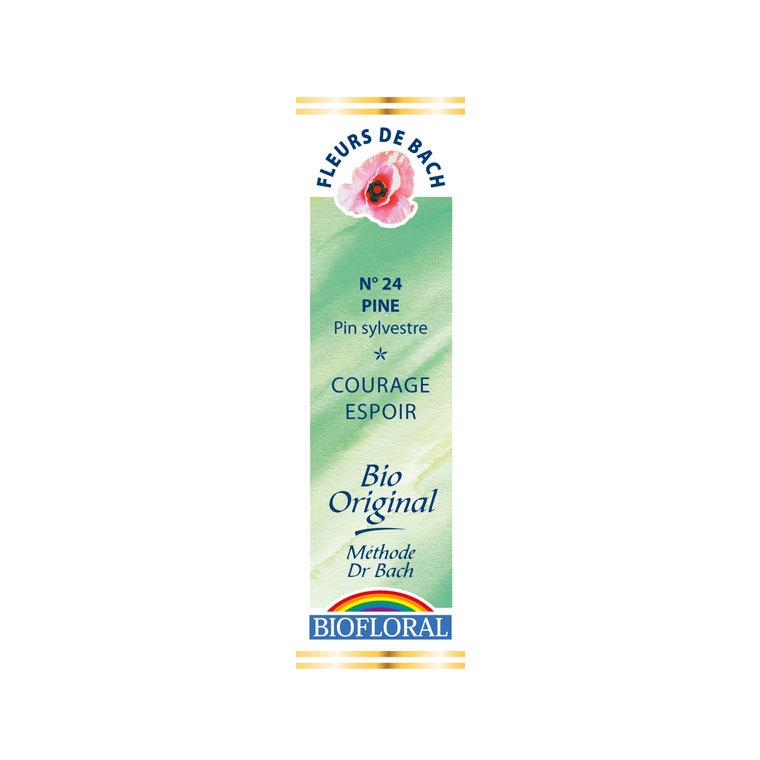 Élixir n°24 Biofloral de pin sylvestre en flacon de 20 ml 356141