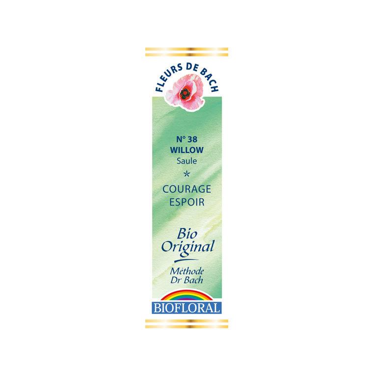 Élixir n°38 Biofloral de saule en flacon de 20 ml 356155