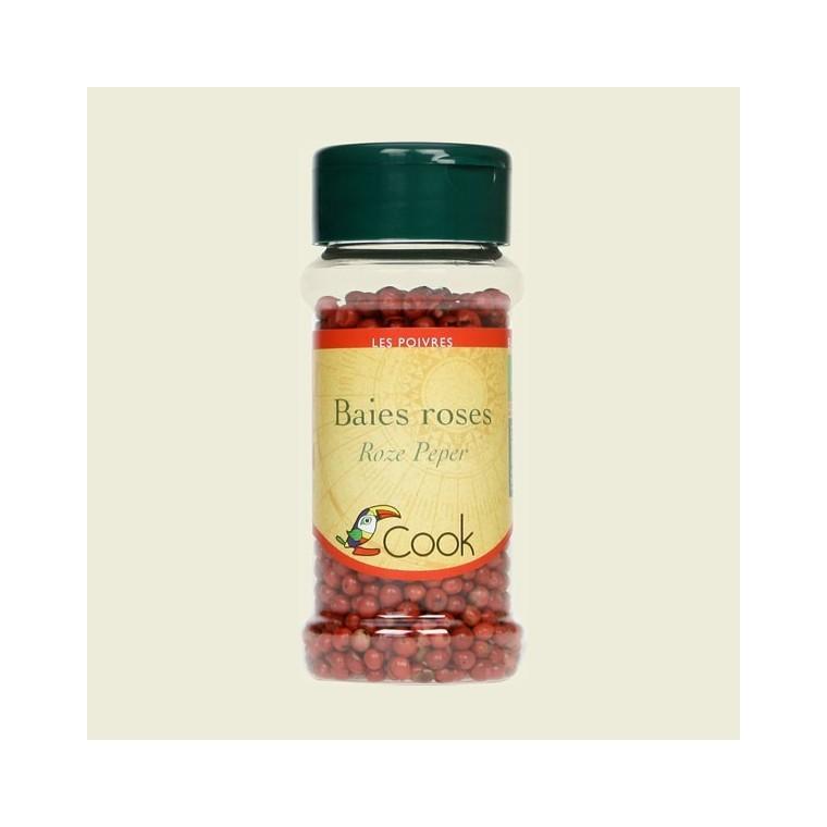 Baies roses bio dans un pot de 20 g 356553
