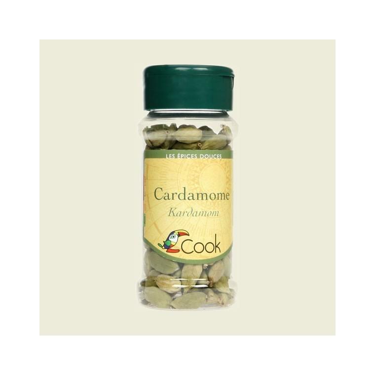 Cardamome en fruits bio en pot de 25 g 356557