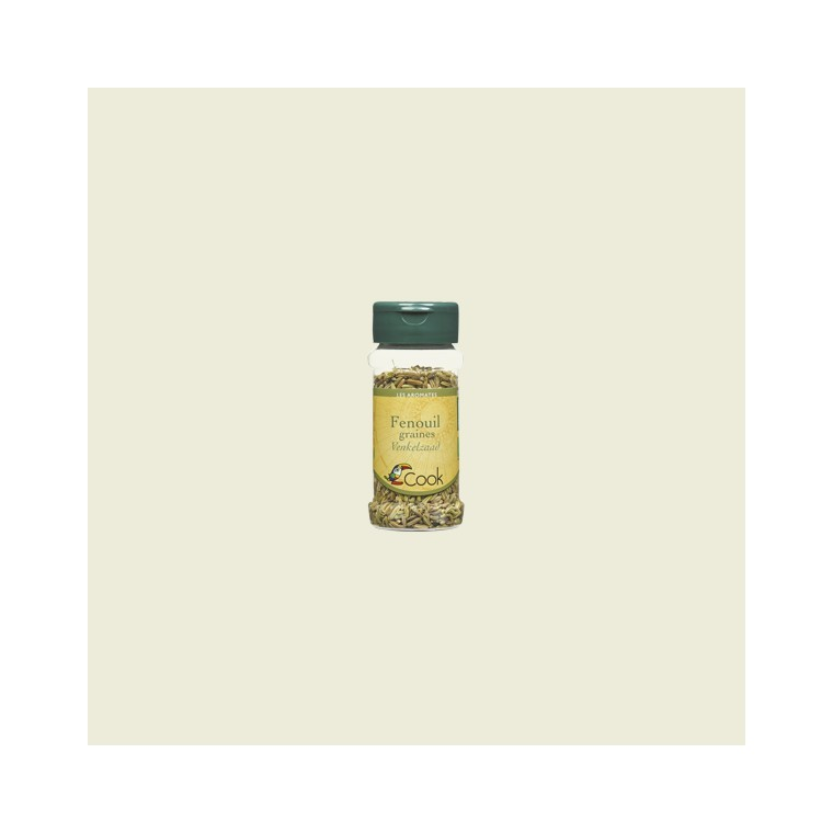 Fenouil en graine bio en pot de 30 g 356568