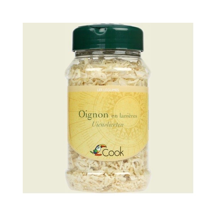 Lanières d'oignon bio en pot de 125 g 356639