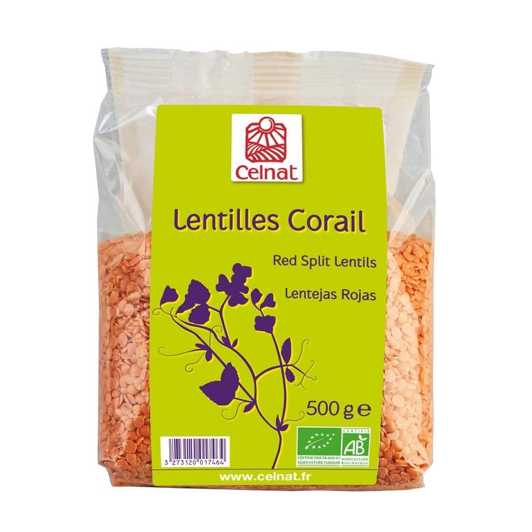 Lentilles corail CELNAT 356838