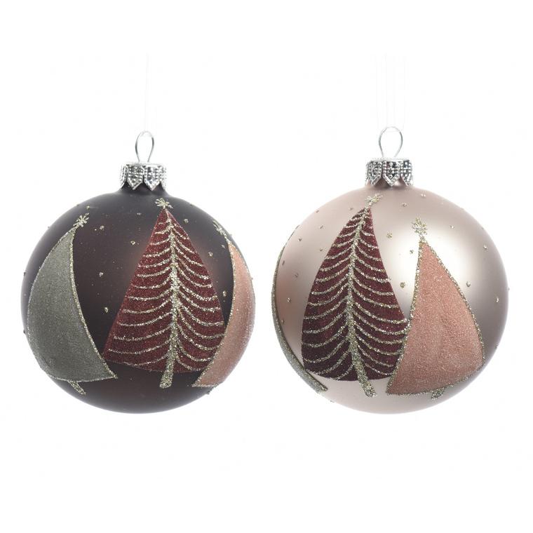 Boule déco arbre (disponible en 2 couleurs) 357600
