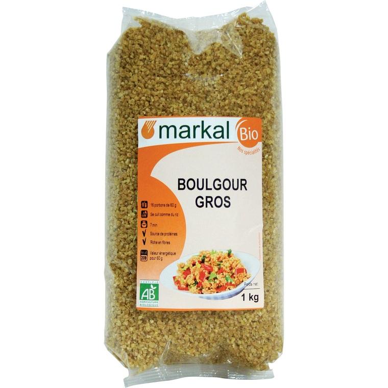 Boulgour Gros bio - 1 kg 358228