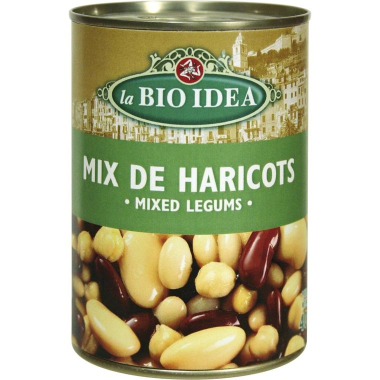 Mix de 4 haricots bio - 400 gr 358350