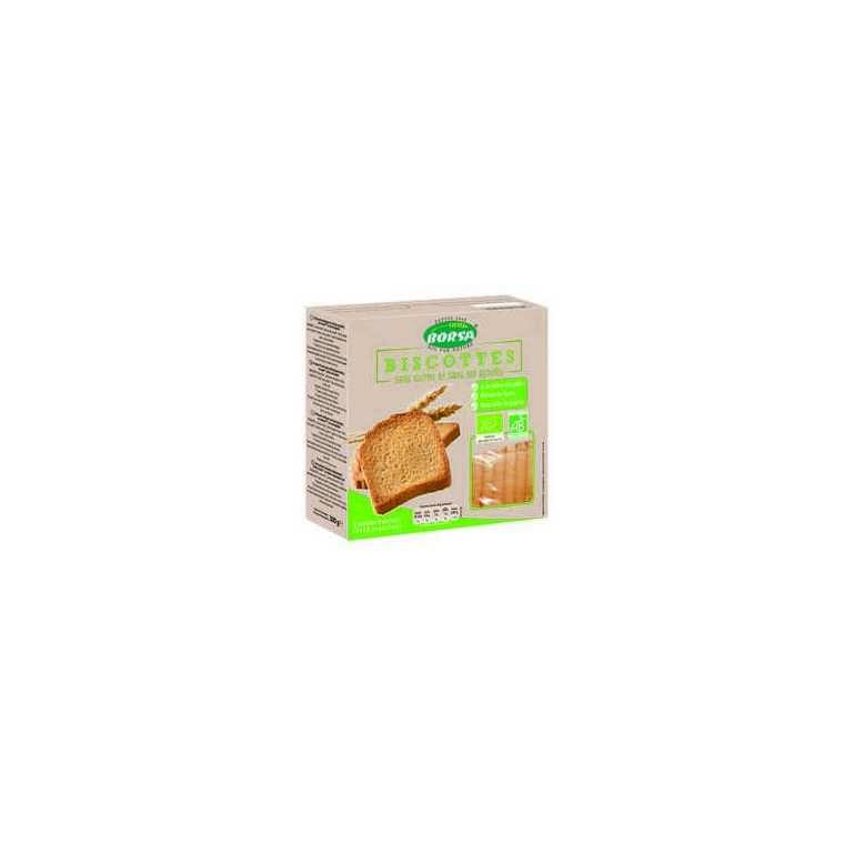 Biscottes sans sel bio - 300 gr 358352