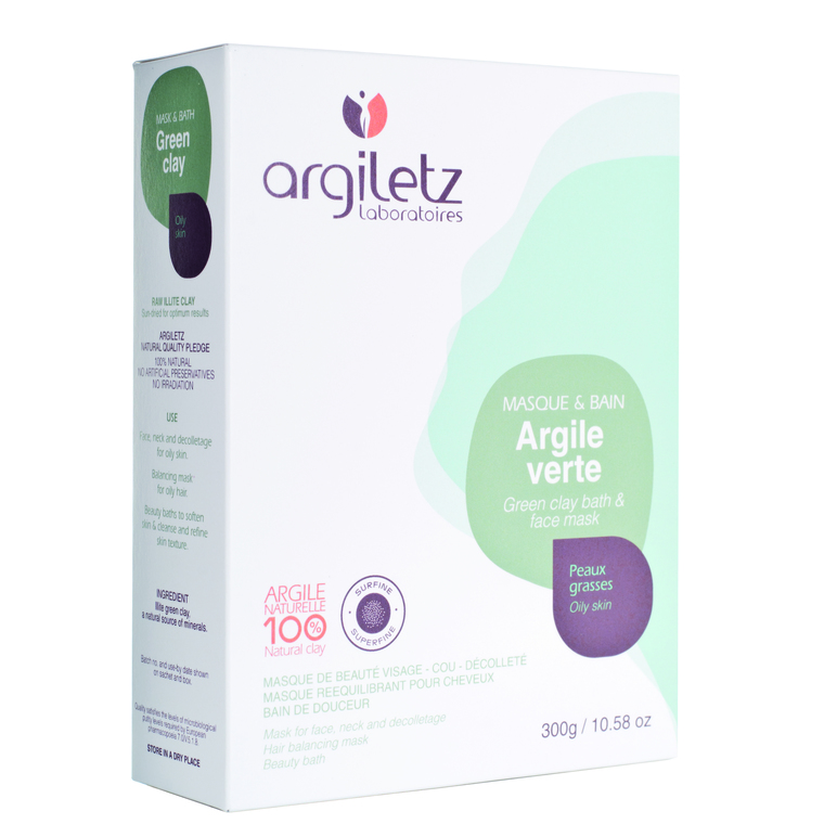 Argile verte naturelle ultra-ventilée en tube de 300 g 358394