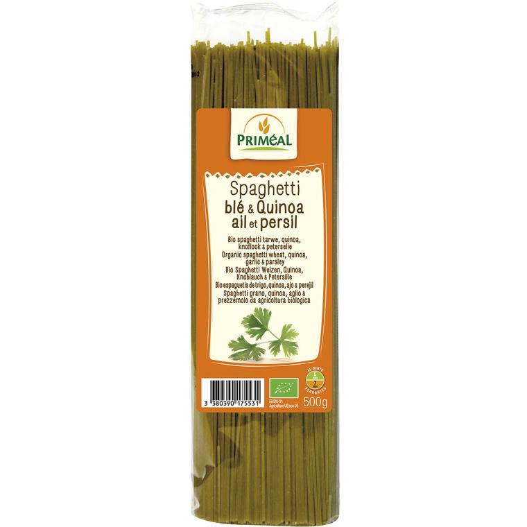 Spaghettis quinoa ail persil 500 g PRIMEAL 358533