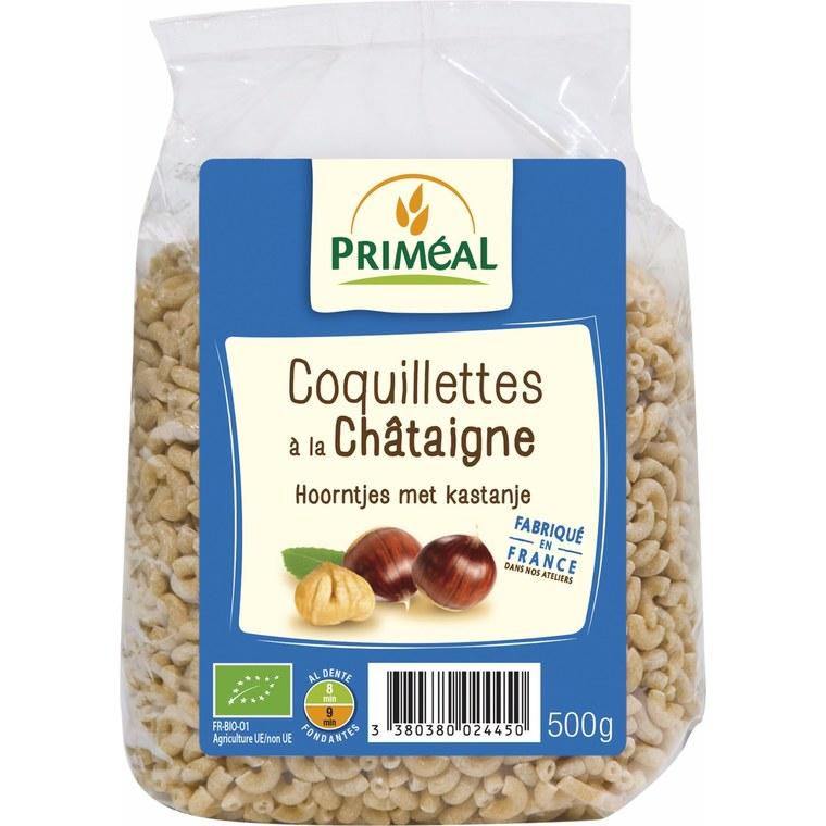 Coquillettes châtaigne PRIMEAL 500 g 358557