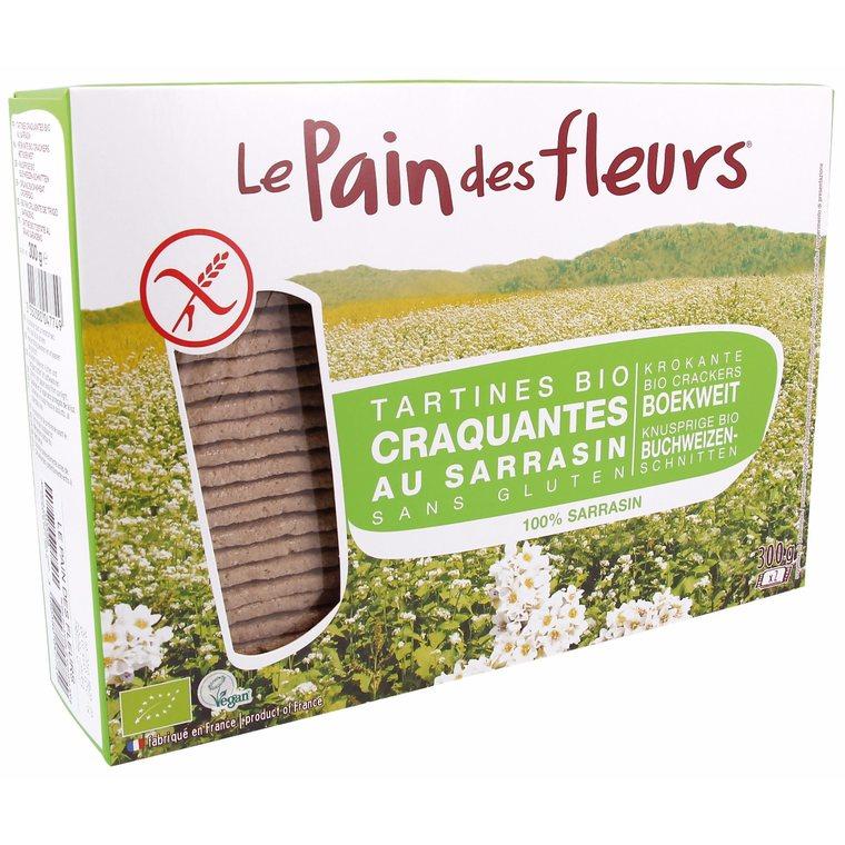Tartines craquantes au sarrasin 300 g PAIN DES FLEURS 358670