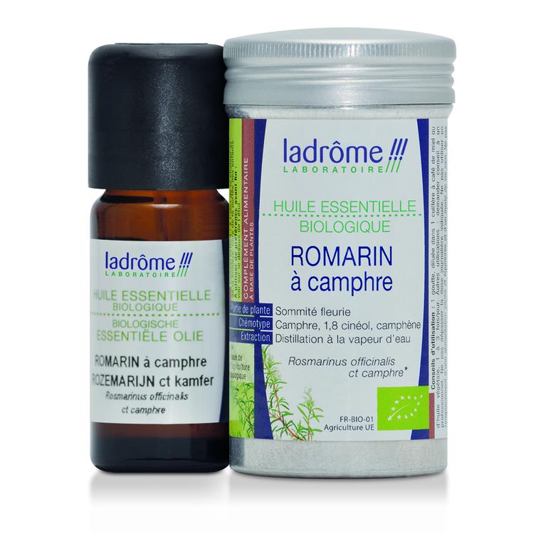 Huile essentielle bio de Romarin à camphre Ladrôme - 10 ml 358918