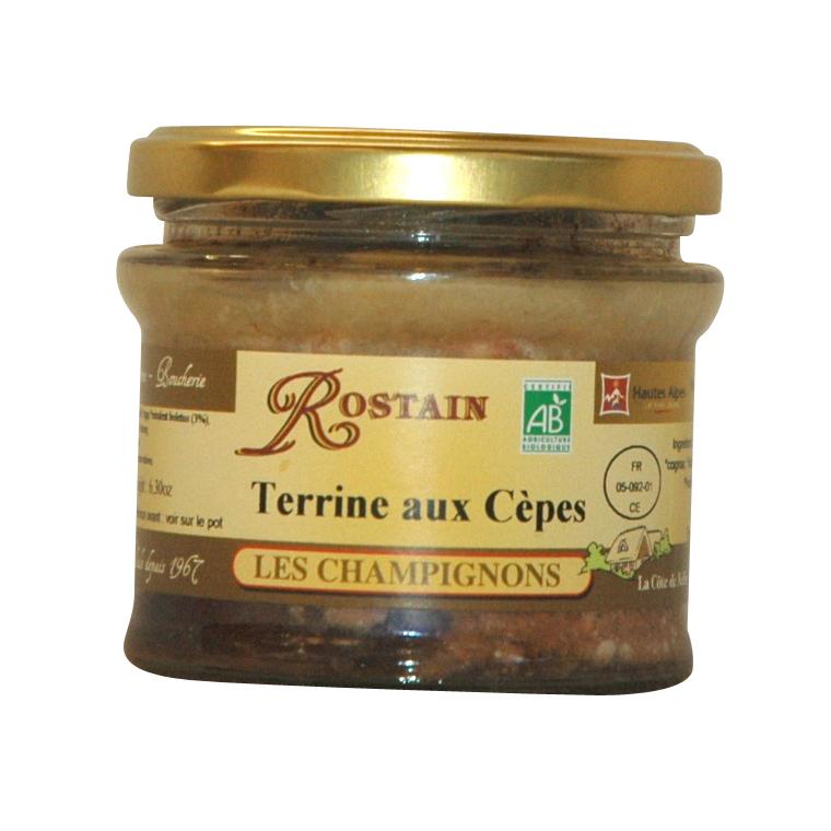 Terrine aux cèpes ROSTAIN 359093