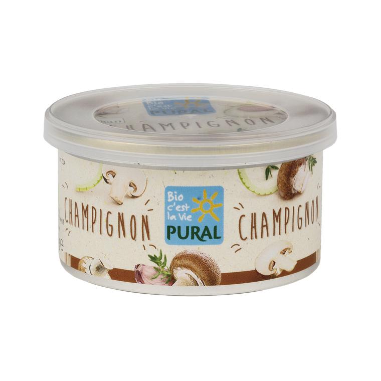 Paté végétal champignons PURAL 360819