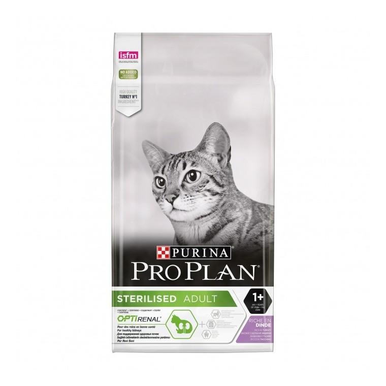 Croquettes chat stérilisé Proplan dinde/ poulet 3 kg 363512