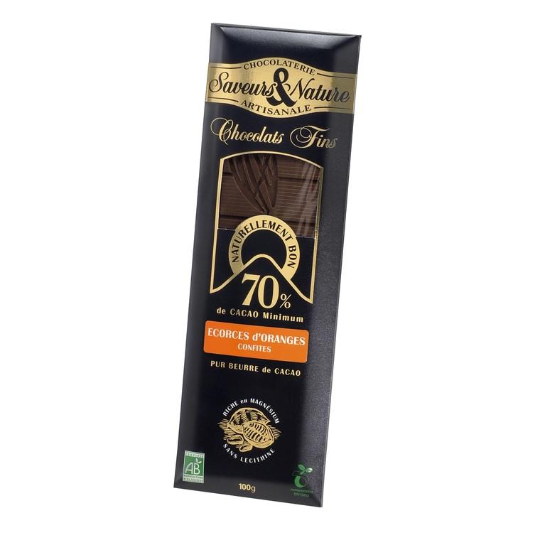 Chocolat noir orange confite SAVEUR ET NATURE 364538