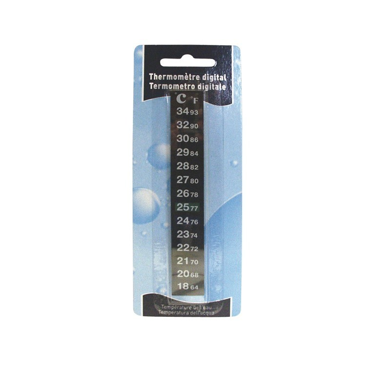 Thermomètre aquarium digital 366014