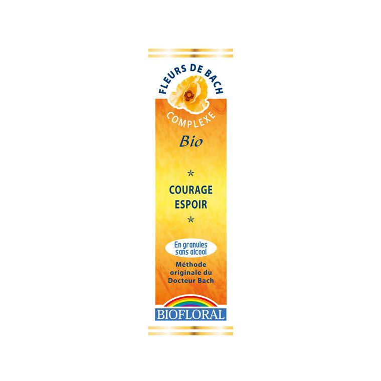 Complexe n°4 Biofloral courage et espoir en granules de 10 ml 366777