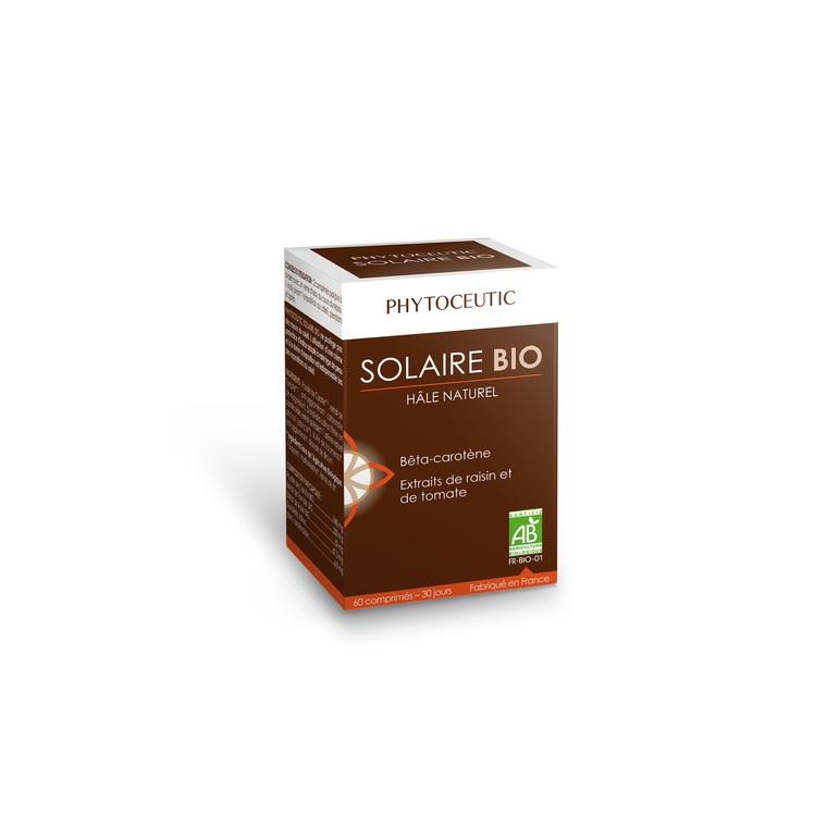 Complément alimentaire solaire bio en pot de 60 comprimés 366952