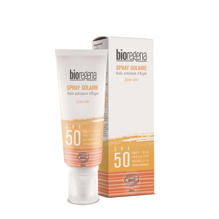 Spray solaire SPF50 Adulte Bioregena - 90 ml 648739