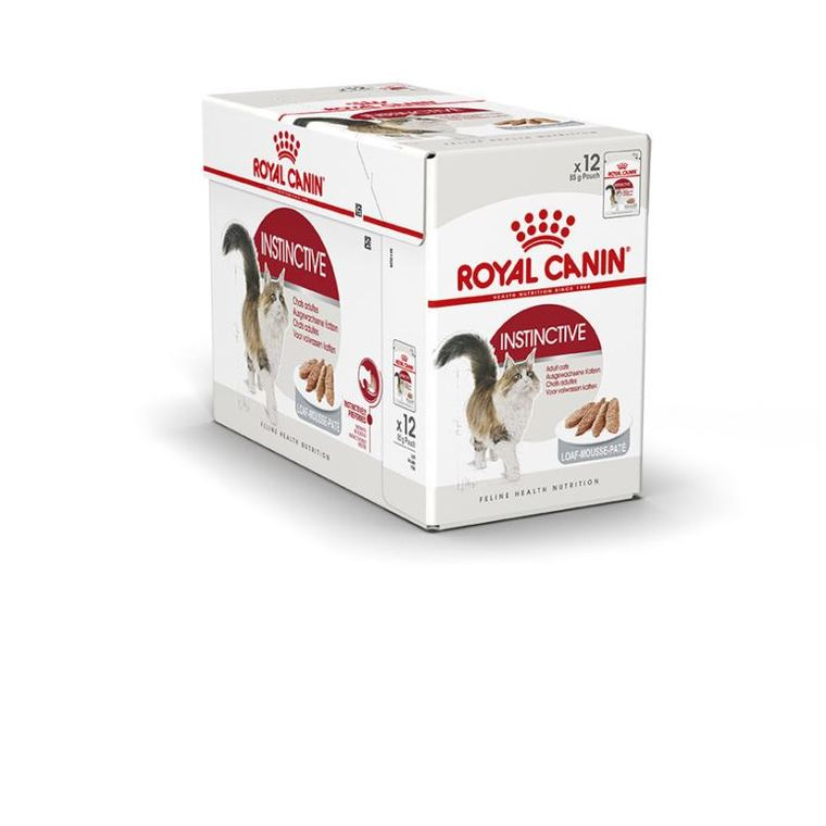 Sachets pour chat Instinctive mousse Royal Canin - 12x85 gr 370987