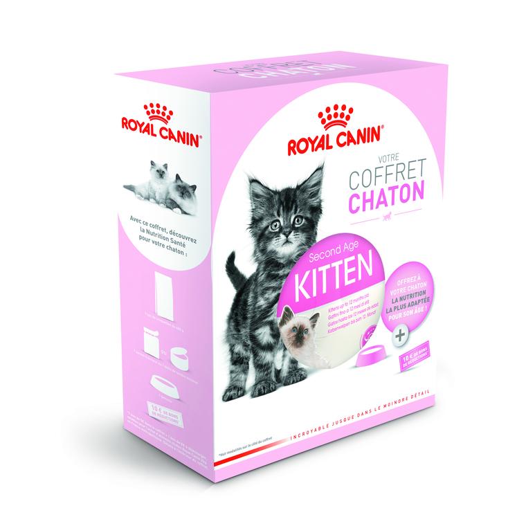 Coffret Chaton Royal Canin - 400 gr + 85 gr 370990