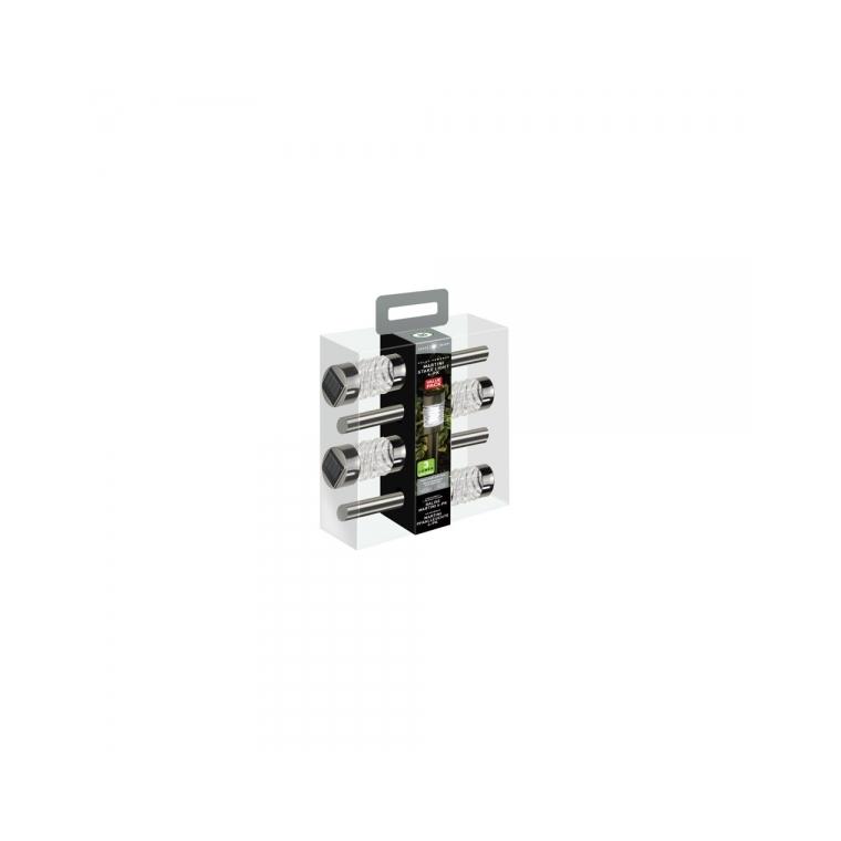 Pack de 4 balises MARTINI solaires LED 373512