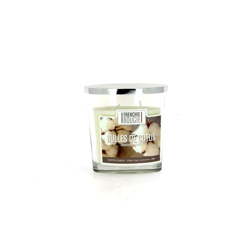 Bougie parfumée parfum bulles de coton - Petit modèle 374423
