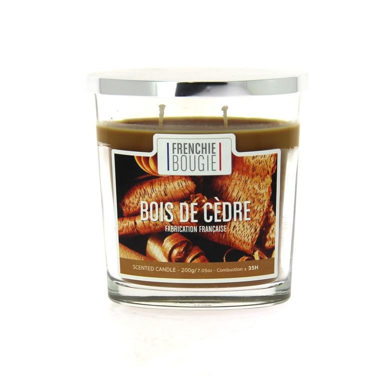 Bougie parfumée parfum bois de cèdre - Grand modèle 374427