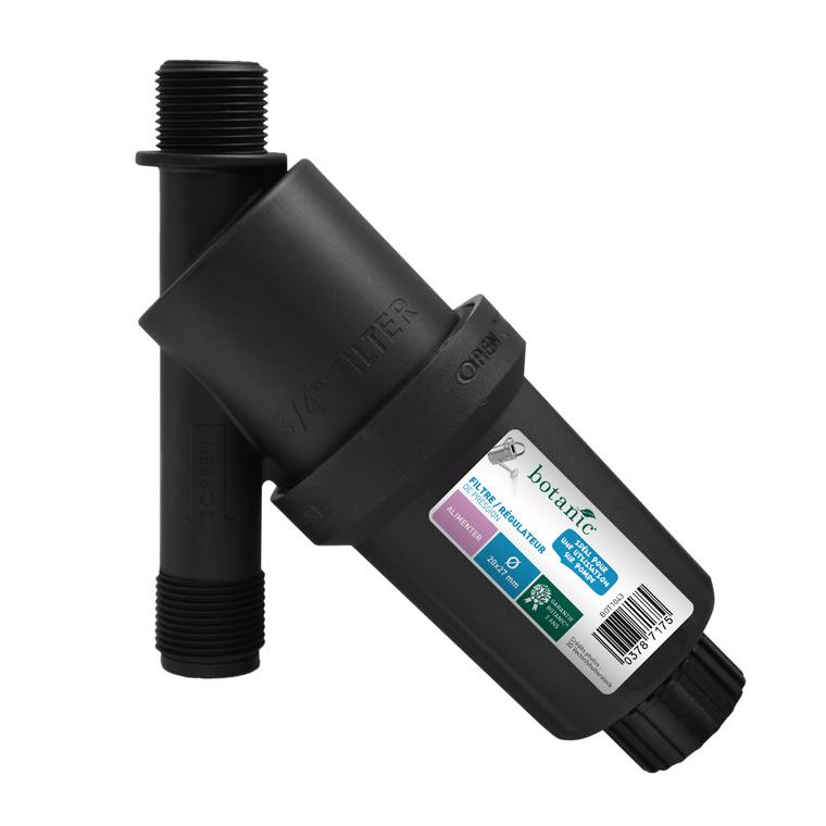 Filtre et régulateur de pression mâle filetage 20 x 27 mm 378717
