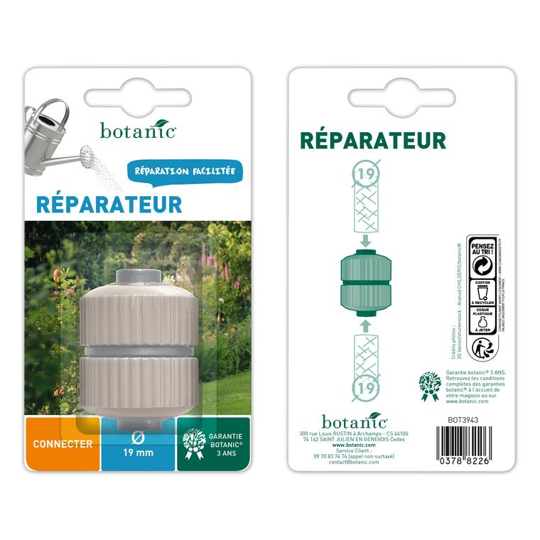Réparateur plastique pour tuyaux Ø 19 mm 378822