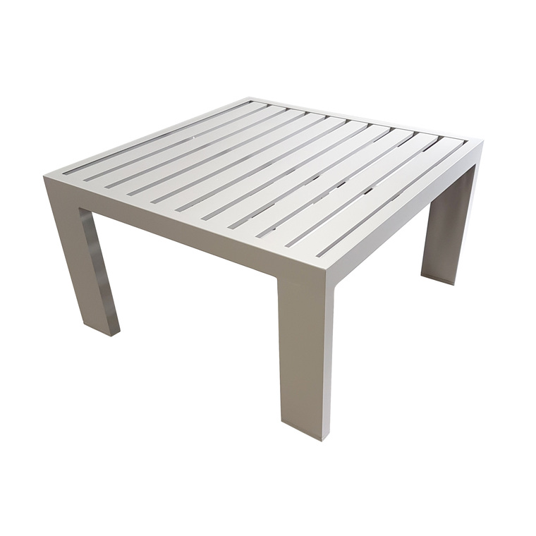 Salon bas Adonis coloris sable en aluminium 379139