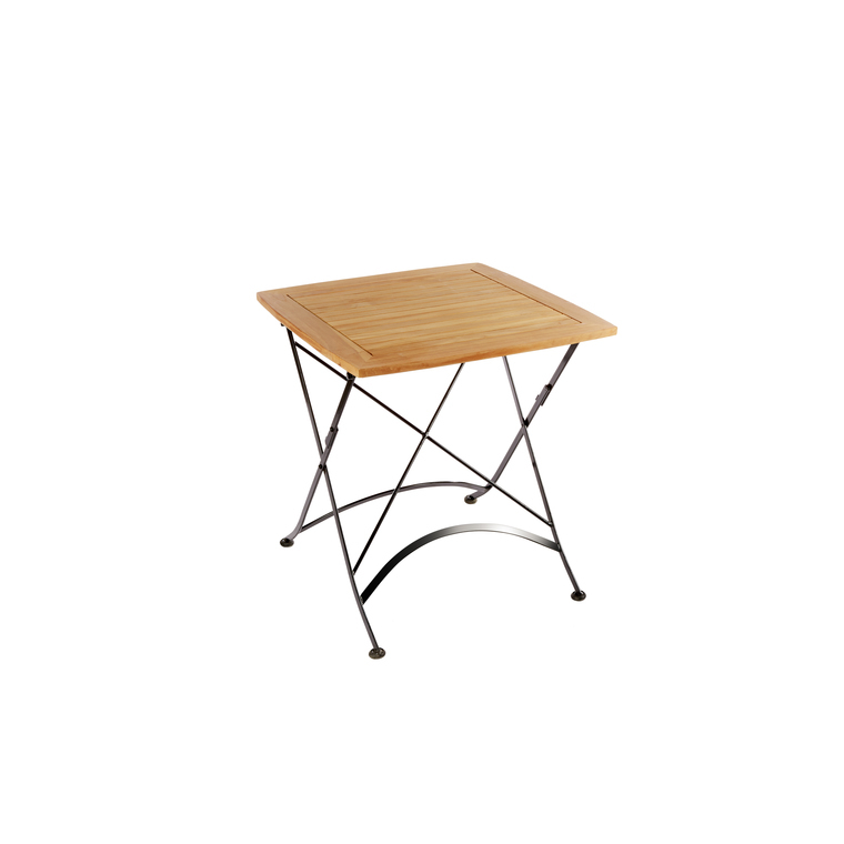 Table pliante carrée Norma 70 x 70 x 74 cm 379142