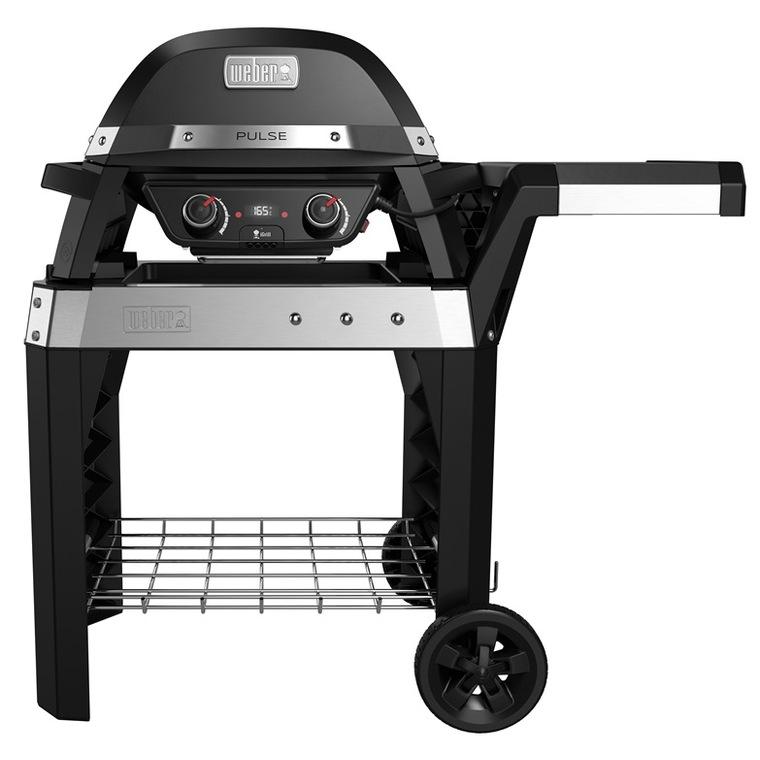 Barbecue électrique Pulse 2000 avec son établi 146 x 76 x 112 cm 379568