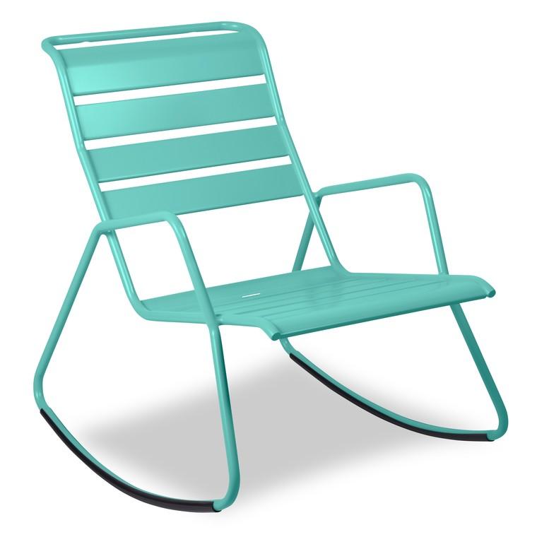 Rocking chair Monceau bleu 379745