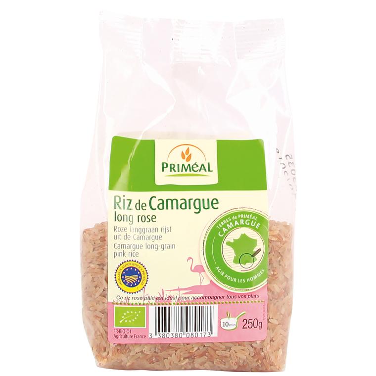Riz long rose bio de Camargue en sachet de 250 g 380888