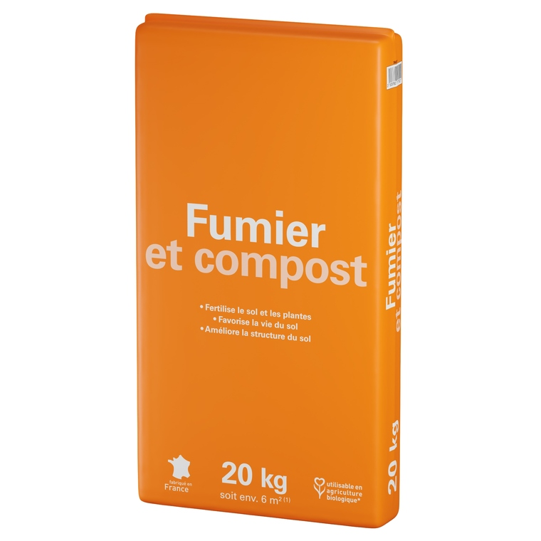 Fumier et compost vert 20 kg 386877