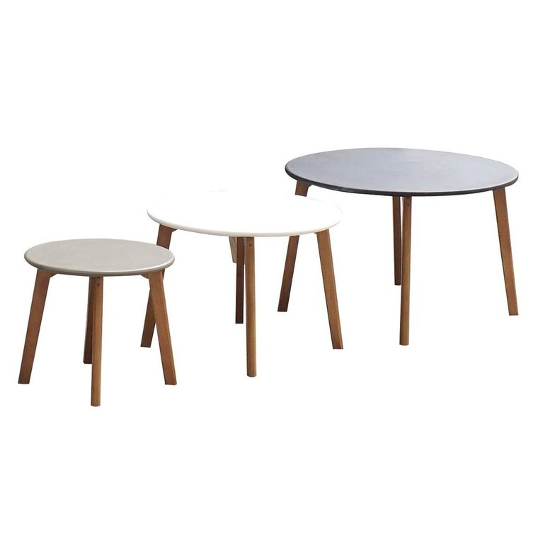 Lot de 3 tables gigognes 386922