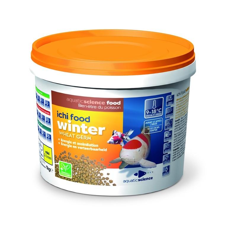 Nourriture poisson de bassin Ichi food winter mini 1 kg 389773