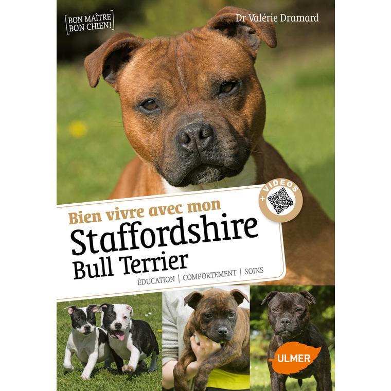 Bien Vivre avec mon Staffordshire Bull Terrier  64 pages 6 vidéos Éditions Eugen ULMER 394698